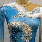 Платье ST с чайкой